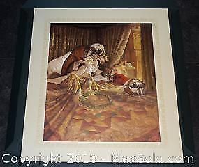 "Scott Gustafson ""Little Red Riding Hood"" limited edition print, s/n"