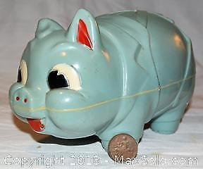 RELIABLE TOYS plastic PIGGY BANK - 10 inches long and 6 inches high