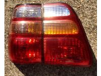 2 x REAR TAIL LIGHTS - 98-05 Toyota Land Cruiser 100 Amazon FJ100 - Lamp Brake Replacement PAIR