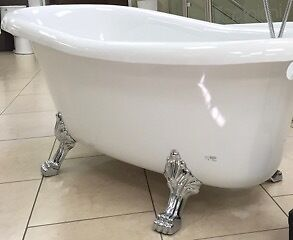Brand New Clawfoot Tub and Faucet