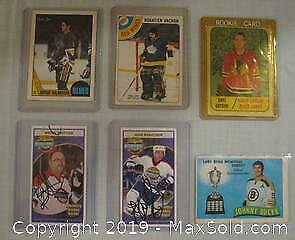 Original Issue Hockey Cards