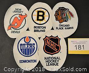 Embroidered NHL HOCKEY CRESTS 15 different in total