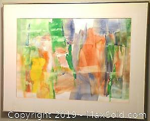 Contemporary Abstract Painting by Bing L. Wong