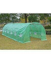 Greenhouse Nursery Tunnel / Walk In Large Portable Greenhouse