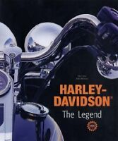HARDCOVER HARLEY- DAVIDSON The Legend by Zierl and Rebmann