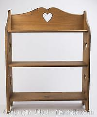 Pine Wooden Free Standing Shelf Unit