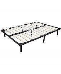 Double bed frame / Wooden Slat Bed Frame / full wood bed frame