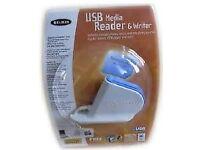 Belkin USB media card reader&writer, brand new, still sealed in its original packaging at only £5