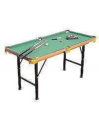 Mini Billiard Pool Table / foldable Miniature Junior Pool table