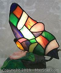 Butterfly Stained Glass Table Lamp