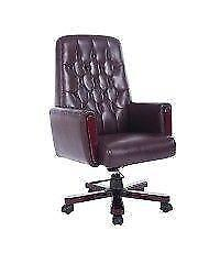 luxury Tufted High Back Office Chair / Faux Leather Office Chair /Computer Office Chair for sale