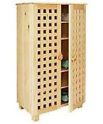 Pine Shoe Cabinet