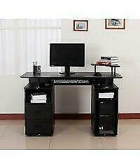 Computer desk / COMPUTER DESK WITH TELEPHONE STAND / Home office Computer desk