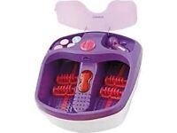 COSMOPOLITAN FOOT SPA HEATED JETS OUTPUT AND FOOT MASSAGE TOOL