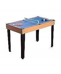 3 in 1 mini game table /mini billiard, tennis or hockey game