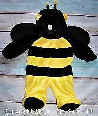 Size 6 - 12 Months Fuzzy Bee Costume MINT - B