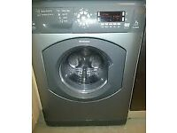 21 Hotpoint WDD960 7kg 1600Spin Silver LCD SensorDrying Washer/Dryer 1 YEAR GUARANTEE FREE DEL N FIT