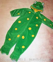 Second Step Infant 18 months Frog Costume - B