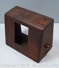 Antique Table Top Radio Case Bakelite Knob Project Piece - B