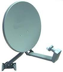 "Bell ExpressVu TV dual lnb 18"" satellite dish new"