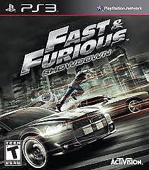 PS3 FAST AND THE FURIOUS (LOTS OF OTHER TITLES IN STORE)