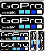 GO PRO DECALS OFFICIAL ORIGINAL SEALED NEW $10.00