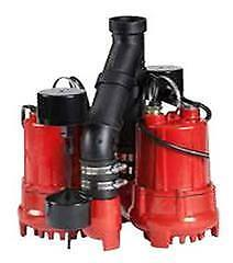 Kawartha Home Hardware1/3 HP Dual Cast Iron Sump Pump System by Red Lion