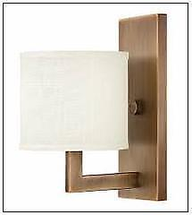 Lighting Interiors & More 534 3210BR Hinkley 1 Light Wall Sconce