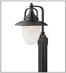 Lighting Interiors & More 534 2081 SB Hinkley Nautical Outdoor Dock or Post Light