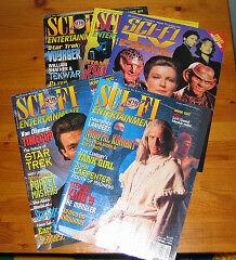 Sci Fi Entertainment Magazine (6 magazines from 90's) Cambridge Kitchener Area image 1