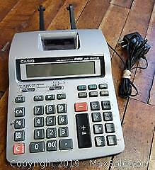 Casio Tax And Exchange Office Calculator