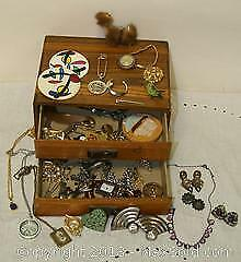 Vintage Jewelry Assortment, Sterling Included