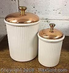 Copper Shoppe Canisters