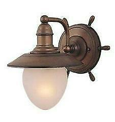 Lighting Interiors & More 533 WL-25501RC 1 light Nautical Wall Sconce