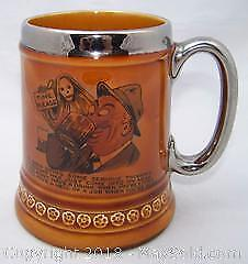 Lord Nelson Pottery Vintage Grim Reaper Stein - B
