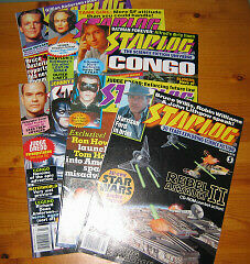 10 Starlog Magazines (from 90's)