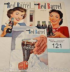 "COCA-COLA ""The Red Barrel"" company magazine Jan. 1950, Mar. 1950 & Aug. 1950"