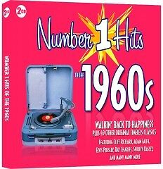 Number 1 Hits of the 1960s - 2CD SET - BRAND NEW SEALED