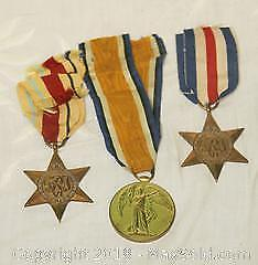 5 Assorted Military Medals