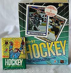 O PEE CHEE 1990 - 1991 Hockey picture cards bubble gum 36 count including rookie cards. Unopened packs