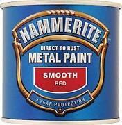 Hammerite Paint Red