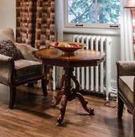 Table d'appoint en bois antique / vintage