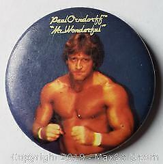 Paul Orndorff AKA Mr Wonderful Button