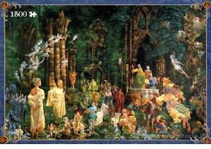 1500 PUZZLE THE ART OF JAMES CHRISTENSEN COURT OF THE FAIRIES