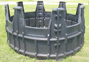Round Bale Feeders, Hay Rings and Hay Nets