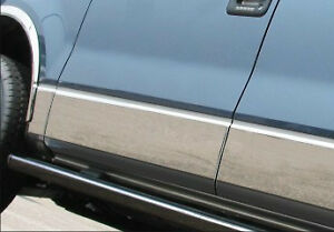 Stainless Steel Rocker Panels by BI Trim - F150 2009 and up