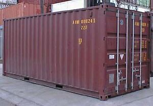 Customized Storage Containers / Seacan