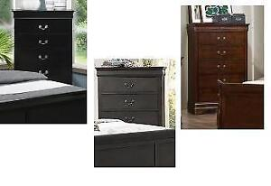 New in Boxes!!!  Chest in Black, Grey or Cherry Regular $560 Now $290 Taxes included
