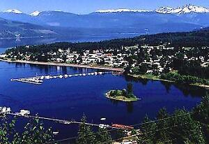 Lake front Property In Town, Nakusp BC