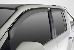 Volkswagen-Amarok-Slimline-Weather-Shields-Dual-Cab-GENUINE-NEW